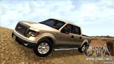 Ford F150 XLT SuperCrew 2010 für GTA San Andreas