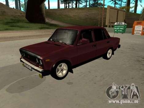 21065 VAZ v2.0 pour GTA San Andreas vue arrière