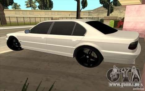 BMW 750iL E38 pour GTA San Andreas vue de droite