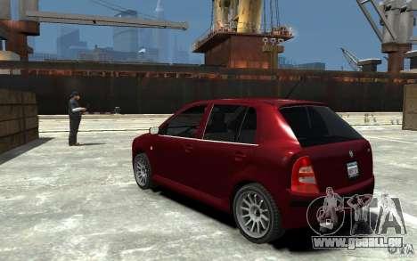 Skoda Fabia für GTA 4 hinten links Ansicht