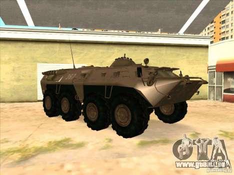 BTR-80 für GTA San Andreas