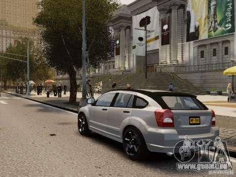 Dodge Caliber pour GTA 4 est un droit