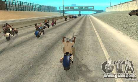 BikersInSa (die Biker In SAN ANDREAS) für GTA San Andreas fünften Screenshot