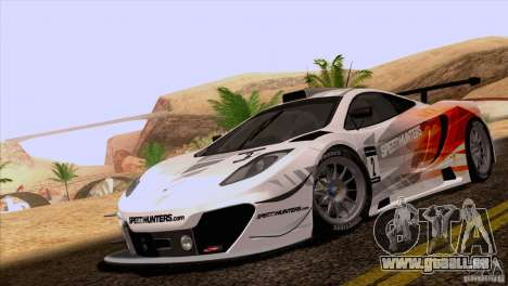 McLaren MP4-12C Speedhunters Edition pour GTA San Andreas