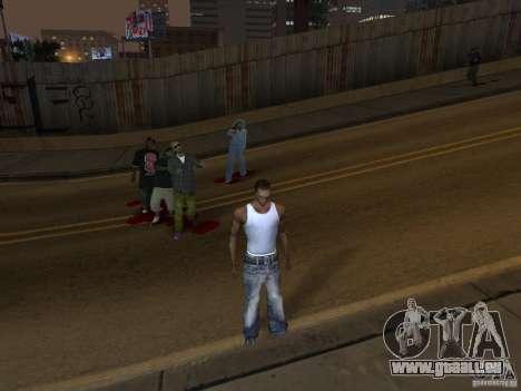 The Walking Dead pour GTA San Andreas troisième écran