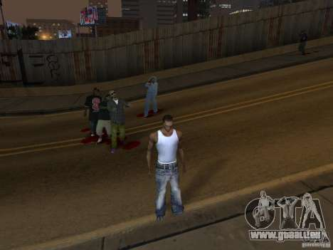 The Walking Dead für GTA San Andreas dritten Screenshot