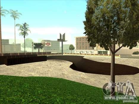 Karte für Parkour und bmx für GTA San Andreas neunten Screenshot