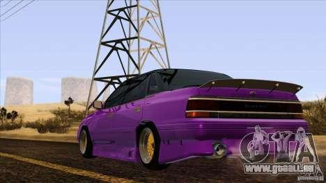 Subaru Legacy Drift Union für GTA San Andreas Seitenansicht