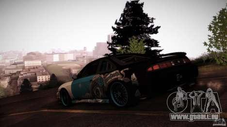 Nissan Silvia S14 NoNgrata für GTA San Andreas Innenansicht