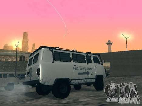UAZ 2206 für GTA San Andreas obere Ansicht