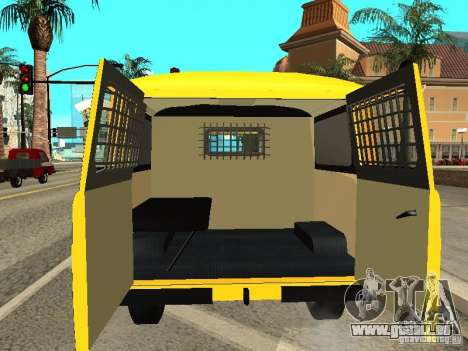 UAZ 2206 Polizei für GTA San Andreas Innenansicht