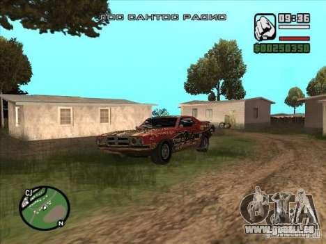 FlatOut bullet pour GTA San Andreas laissé vue