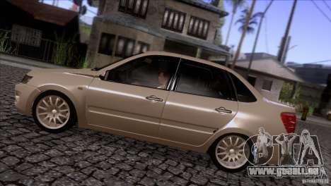 VAZ 2190 Granta pour GTA San Andreas laissé vue