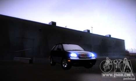 Lexus RX300 pour GTA San Andreas
