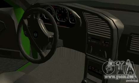 BMW E36 320i für GTA San Andreas Seitenansicht