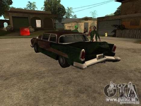 OceanicShit pour GTA San Andreas vue de droite