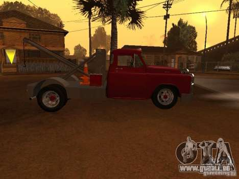 Dodge Towtruck für GTA San Andreas linke Ansicht