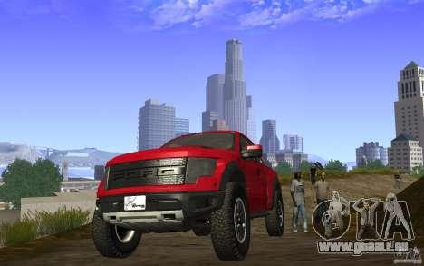 Ford F150 SVT RapTor für GTA San Andreas Rückansicht
