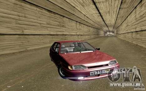 ВАЗ 2114 qualité pour GTA San Andreas salon