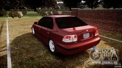 Honda Civic Vti für GTA 4 hinten links Ansicht