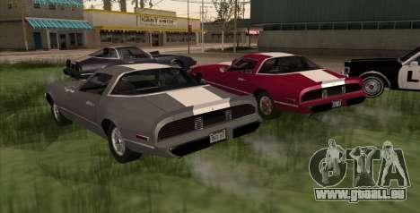 Eon Phoenix pour GTA San Andreas laissé vue