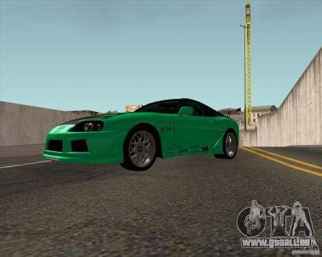 Toyota Supra ZIP style pour GTA San Andreas vue de droite