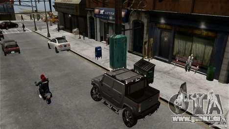 Hummer H2 SUT pour GTA 4 est une gauche
