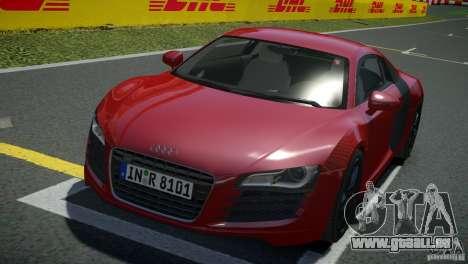 Audi R8 V8 2008 v2.0 für GTA 4 hinten links Ansicht