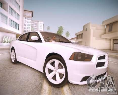 Dodge Charger 2011 v.2.0 für GTA San Andreas Rückansicht