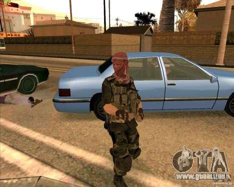 Haut Dušmana von COD4 für GTA San Andreas zweiten Screenshot