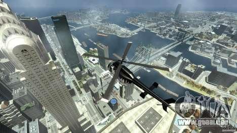 All new Tourmav pour GTA 4 Vue arrière