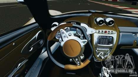 Pagani Huayra 2011 v1.0 [RIV] pour GTA 4 roues