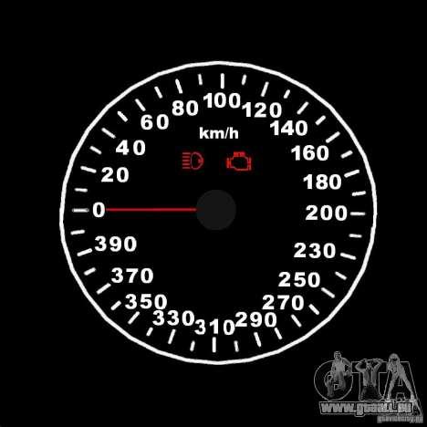 Compteur de vitesse 2.0 finale pour GTA San Andreas