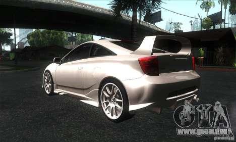 Toyota Celica-SS2 Tuning v1.1 pour GTA San Andreas vue de droite