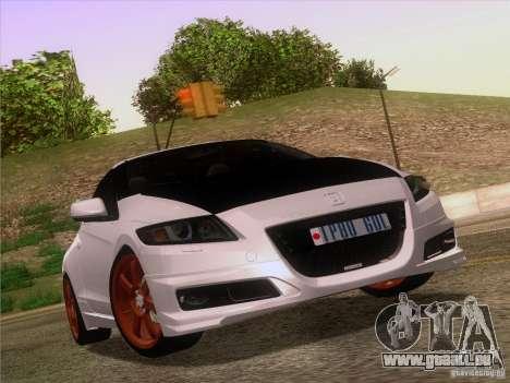 Honda CR-Z Mugen 2011 V2.0 für GTA San Andreas Innen