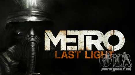 Metro Last Light AK 47 für GTA San Andreas zweiten Screenshot