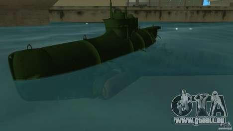 Seehund Midget Submarine skin 1 für GTA Vice City