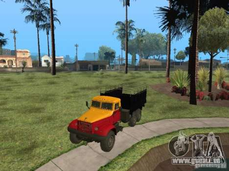 YAZ 214 pour GTA San Andreas sur la vue arrière gauche