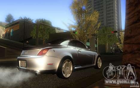 Lexus SC430 für GTA San Andreas rechten Ansicht