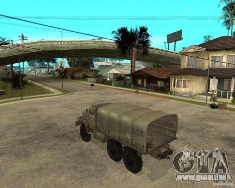 Oural-4230 pour GTA San Andreas laissé vue