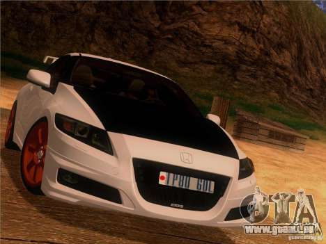 Honda CR-Z Mugen 2011 V2.0 pour GTA San Andreas vue intérieure