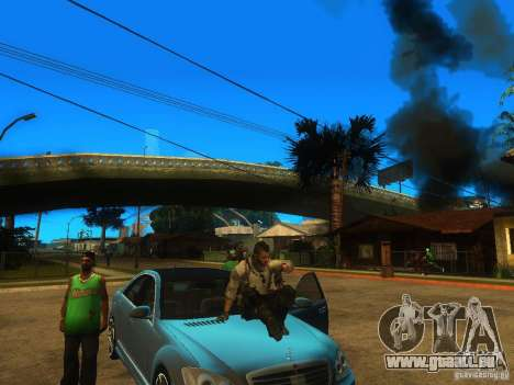 Animation Mod für GTA San Andreas dritten Screenshot