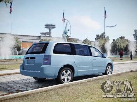 Dodge Grand Caravan SXT 2008 für GTA 4 Unteransicht