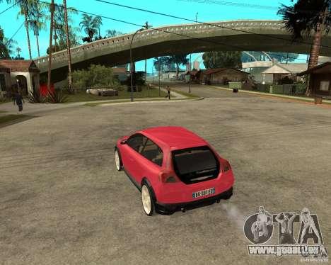VOLVO C 30 T5 DEL 2008 pour GTA San Andreas laissé vue
