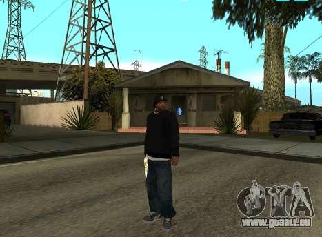 Ice Cube pour GTA San Andreas deuxième écran