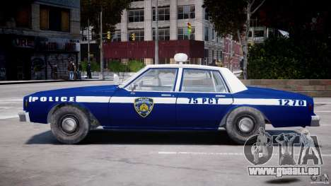 Chevrolet Impala Police 1983 [Final] für GTA 4 obere Ansicht