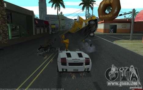 Accident réaliste pour GTA San Andreas quatrième écran