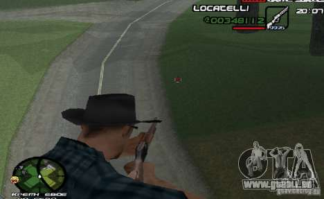 New HUD  v.2 für GTA San Andreas zweiten Screenshot