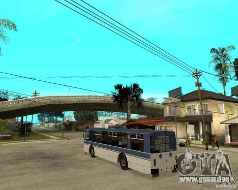 ZiU 52642 für GTA San Andreas linke Ansicht