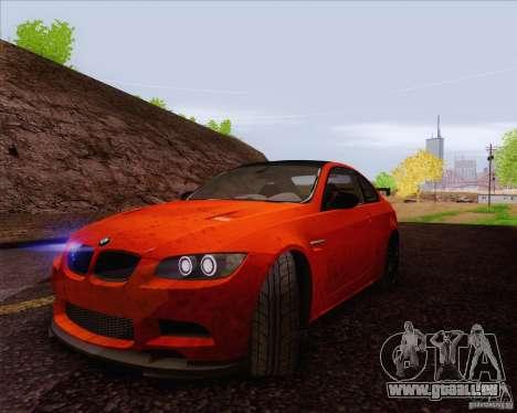 BMW M3 GT-S für GTA San Andreas Innenansicht
